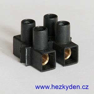Lámací svorkovnice 2x 6mm2