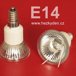 Těleso žárovky E14