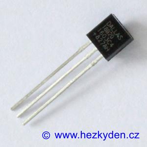 Teplotní senzor DS18B20