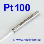 Teplotní senzor Pt100 s kabelem