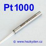 Teplotní senzor Pt1000 s kabelem