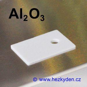 Teplovodivá korundová izolační podložka TO220