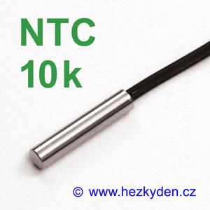 Termistor NTC 10k s kabelem