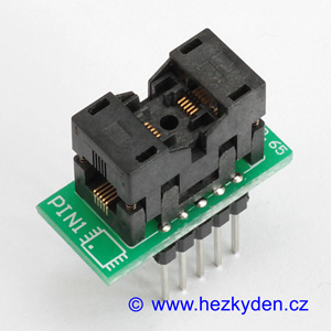 Test Socket SMD MSOP 10-pin DPS