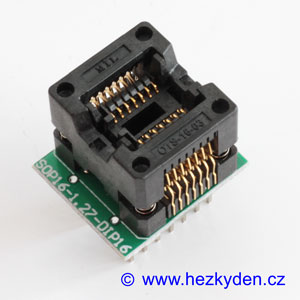 Test Socket SMD 14-pin DPS