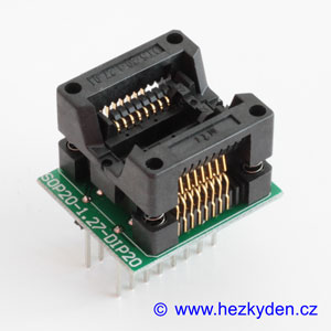 Test Socket SMD 16-pin 209mil DPS
