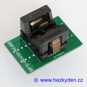 Test Socket SMD SSOP 16-pin DPS