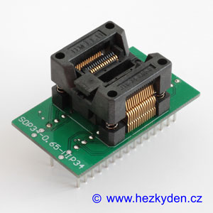 Test Socket SMD SSOP 30-pin DPS