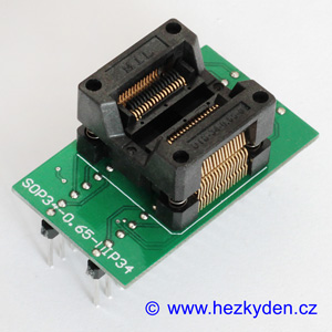 Test Socket SMD SSOP 34-pin DPS