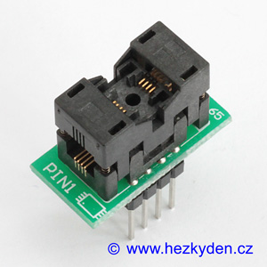 Test Socket SMD MSOP 8-pin DPS