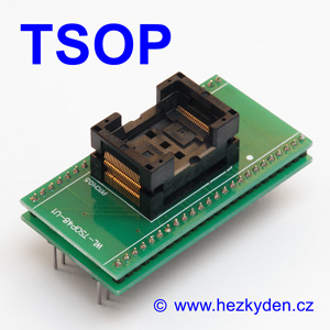 Test Socket SMD TSOP 48-pin DPS