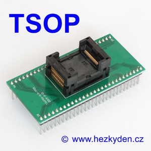 Test Socket SMD TSOP 56-pin DPS