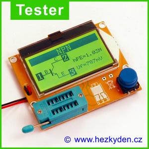 Tester elektro součástek ESR‑T4