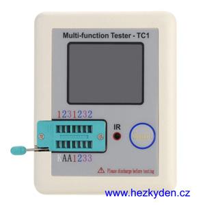 Tester elektro součástek TC1