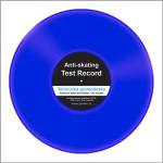 Testovací gramodeska - bez drážek - Blank disc