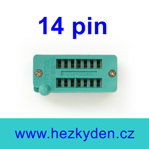 Patice Textool ZIF 14 pin