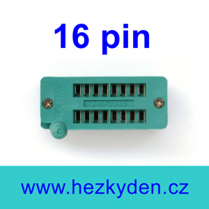 Patice Textool ZIF 16 pin