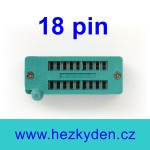 Patice Textool ZIF 18 pin
