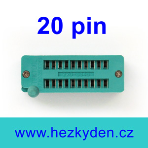 Patice Textool ZIF 20 pin