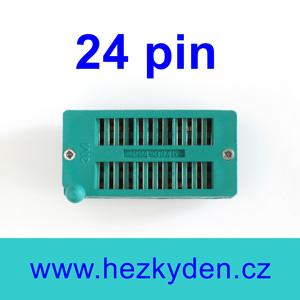 Patice Textool ZIF 24 pin univerzální