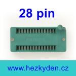 Patice Textool ZIF 28 pin široká