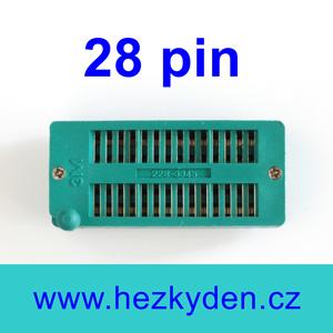 Patice Textool ZIF 28 pin univerzální