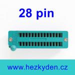 Patice Textool ZIF 28 pin úzká