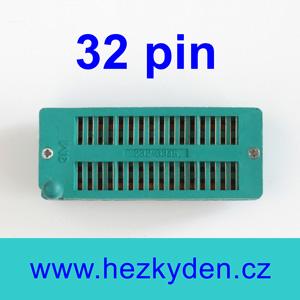 Patice Textool ZIF 32 pin univerzální