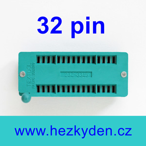 Patice Textool ZIF 32 pin