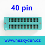 Patice Textool ZIF 40 pin univerzální
