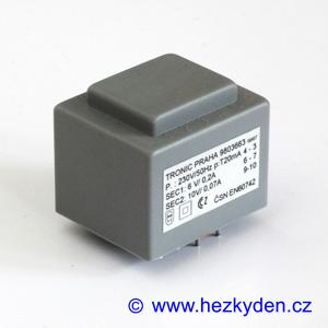 Trafo 230V / 6V + 10V