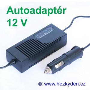 Univerzální napájecí autoadaptér 12V