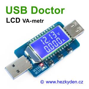 USB Doctor LCD VA-metr