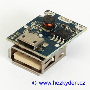 USB nabíječka DC-DC měnič TP4313