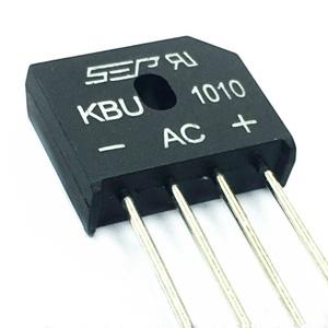 Usměrňovací můstek 10A 1000V plochý