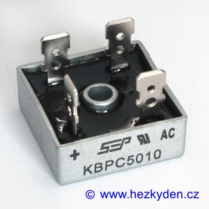 Usměrňovací můstek 50A 1000V kostka