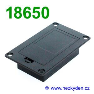 Vestavné pouzdro pro baterie 18650