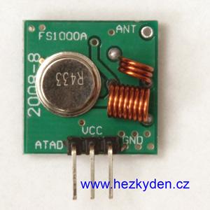 Vf modul vysílač 434 MHz