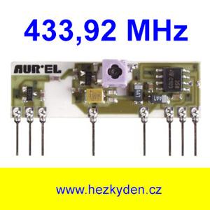 VF přijímač 434 MHz AC-RX
