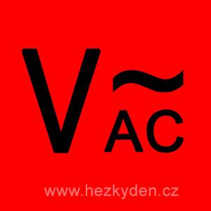 Voltmetry AC střídavé