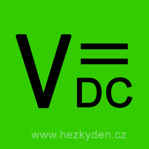 Voltmetry DC stejnosměrné