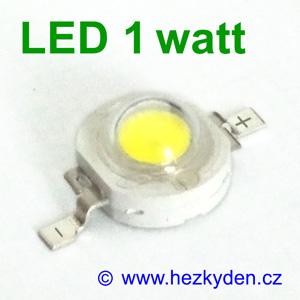 Výkonová LED dioda 1W