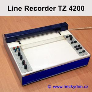 Zapisovací plotr LINE RECORDER TZ 4200