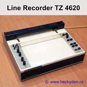 Zapisovací plotr LINE RECORDER TZ 4620